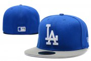 Wholesale Cheap Los Angeles Dodgers fitted hats 12