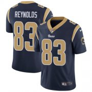 Wholesale Cheap Nike Rams #83 Josh Reynolds Navy Blue Team Color Men's Stitched NFL Vapor Untouchable Limited Jersey