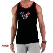 Wholesale Cheap Men's Nike NFL Houston Texans Sideline Legend Authentic Logo Tank Top Black