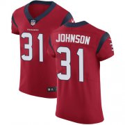 Wholesale Cheap Nike Texans #31 David Johnson Red Alternate Men's Stitched NFL New Elite Jersey