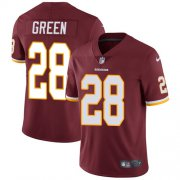 Wholesale Cheap Nike Redskins #28 Darrell Green Burgundy Red Team Color Men's Stitched NFL Vapor Untouchable Limited Jersey
