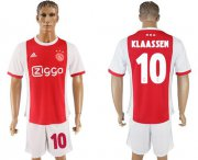 Wholesale Cheap Ajax #10 Klaassen Home Soccer Club Jersey
