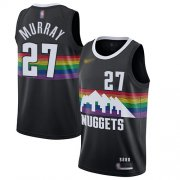Wholesale Cheap Nuggets #27 Jamal Murray Black Basketball Swingman City Edition 2019-20 Jersey