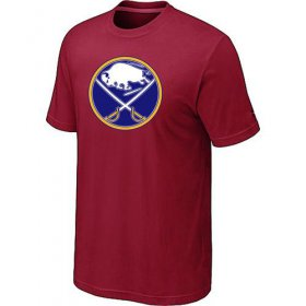 Wholesale Cheap Buffalo Sabres Big & Tall Logo Red NHL T-Shirt