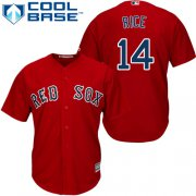 Wholesale Cheap Red Sox #14 Jim Rice Red Cool Base Stitched Youth MLB Jersey