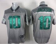 Wholesale Cheap Eagles #10 DeSean Jackson Grey Shadow Stitched NFL Jersey