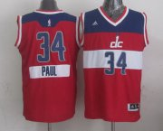 Wholesale Cheap Washington Wizards #34 Paul Pierce Revolution 30 Swingman 2014 Christmas Day Red Jersey