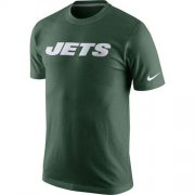 Wholesale Cheap Nike New York Jets Fast Wordmark T-Shirt Green