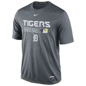 Wholesale Cheap Detroit Tigers Nike Legend Team Issue Performance T-Shirt Charcoal
