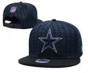Wholesale Cheap Cowboys Team Logo Navy Black Adjustable Hat TX