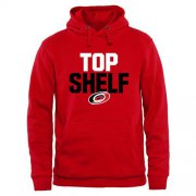 Wholesale Cheap Carolina Hurricanes Top Shelf Pullover Hoodie Scarlet