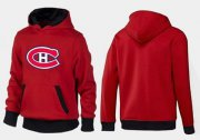 Wholesale Cheap Montreal Canadiens Pullover Hoodie Red & Black