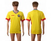 Wholesale Cheap Romania Blank Home Soccer Country Jersey