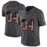 Wholesale Cheap Nike Bears #34 Walter Payton 2018 Salute To Service Retro USA Flag Limited NFL Jersey