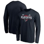Wholesale Cheap Houston Texans 2019 NFL Playoffs Bound Chip Shot Long Sleeve T-Shirt Navy