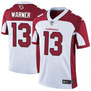 Wholesale Cheap Nike Cardinals #13 Kurt Warner White Men's Stitched NFL Vapor Untouchable Limited Jersey