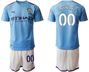 Wholesale Cheap Manchester City Personalized Home Soccer Club Jersey
