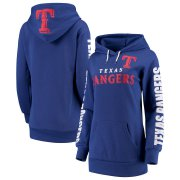 Wholesale Cheap Texas Rangers G-III 4Her by Carl Banks Women's Extra Innings Pullover Hoodie Royal