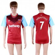 Wholesale Cheap West Ham United #7 Arnautovic Home Soccer Club Jersey