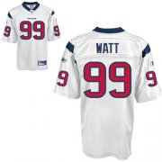Wholesale Cheap Texans #99 J.J.Watt White Stitched NFL Jersey