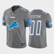 Wholesale Nike Seattle Seahawks Customized Steel Blue Team Color Stitched Vapor Untouchable Limited Men's NFL Jersey
