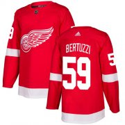 Wholesale Cheap Adidas Red Wings #59 Tyler Bertuzzi Red Home Authentic Stitched Youth NHL Jersey