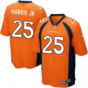Wholesale Cheap Nike Broncos #25 Chris Harris Jr Orange Team Color Youth Stitched NFL New Elite Jersey