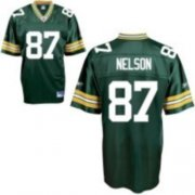 Wholesale Cheap Packers #87 Jordy Nelson Green Stitched NFL Jersey