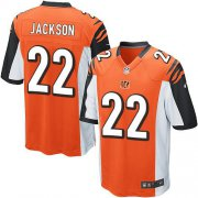 Wholesale Cheap Nike Bengals #22 William Jackson Orange Alternate Youth Stitched NFL Elite Jersey