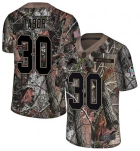 Wholesale Cheap Nike Lions #30 Teez Tabor Camo Youth Stitched NFL Limited Rush Realtree Jersey