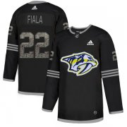 Wholesale Cheap Adidas Predators #22 Kevin Fiala Black Authentic Classic Stitched NHL Jersey