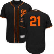 Wholesale Cheap Giants #21 Stephen Vogt Black Flexbase Authentic Collection Alternate Stitched MLB Jersey