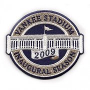 Wholesale Cheap Stitched 2009 New York Yankees Stadium Inaugural Season Jersey Patch