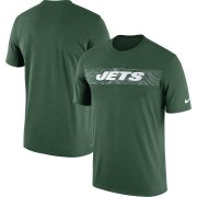 Wholesale Cheap New York Jets Nike Sideline Seismic Legend Performance T-Shirt Green