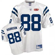 Wholesale Cheap Colts #88 Marvin Harrison White With Super Bowl Patch Stitched NFL Jersey