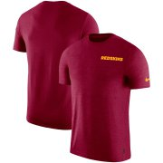 Wholesale Cheap Washington Redskins Nike On-Field Coaches UV Performance T-Shirt Burgundy