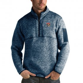 Wholesale Cheap Florida Panthers Antigua Fortune Quarter-Zip Pullover Jacket Royal