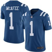 Wholesale Cheap Nike Colts #1 Pat McAfee Royal Blue Youth Stitched NFL Limited Rush Jersey