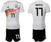 Wholesale Cheap Germany #17 Boateng White Home Soccer Country Jersey