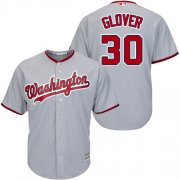 Wholesale Cheap Nationals #30 Koda Glover Grey New Cool Base Stitched MLB Jersey