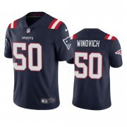 Wholesale Cheap New England Patriots #50 Chase Winovich Men's Nike Navy 2020 Vapor Limited Jersey