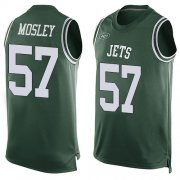 Wholesale Cheap Nike Jets #57 C.J. Mosley Martin Green Team Color Men's Stitched NFL Limited Tank Top Jersey