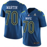Wholesale Cheap Nike Cowboys #70 Zack Martin Navy Youth Stitched NFL Limited NFC 2017 Pro Bowl Jersey
