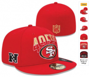 Wholesale Cheap San Francisco 49ers fitted hats22