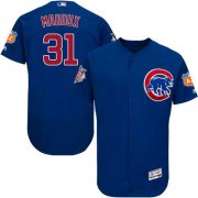 Wholesale Cubs #31 Greg Maddux Blue Flexbase Authentic Collection Stitched Baseball Jersey