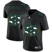 Wholesale Cheap Green Bay Packers #55 Za'Darius Smith Men's Nike Team Logo Dual Overlap Limited NFL Jersey Black