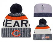 Wholesale Cheap NFL Chicago Bears Logo Stitched Knit Beanies 007