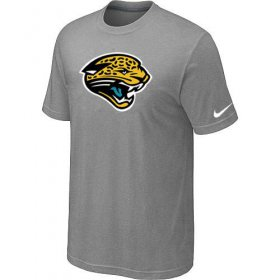Wholesale Cheap Jacksonville Jaguars Sideline Legend Authentic Logo Dri-FIT Nike NFL T-Shirt Light Grey