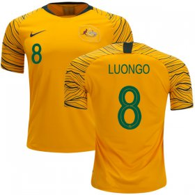 Wholesale Cheap Australia #8 Luongo Home Soccer Country Jersey