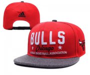 Wholesale Cheap NBA Chicago Bulls Snapback Ajustable Cap Hat YD 03-13_39